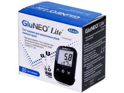 Тест - полоски GluNeo Lite (ГлюНео Лайт) 50 шт