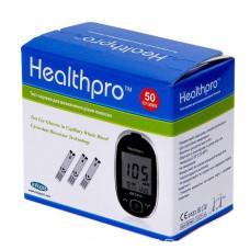 Тест-полоски HealthPro 50 шт. в 2 флаконах по 25 шт. для определения глюкозы в крови глюкометром хелспро 8809115901804