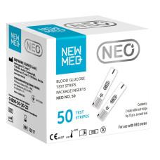 Тест-полоски NewMed Neo 50 штук. Австрийское качество по доступной цене. (2100000013661)