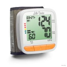Тонометр автоматический с манжетой на запястье Little Doctor LD12  память на 2х90 измерений, индикация аритмии, шкала ВОЗ (8887786200440)