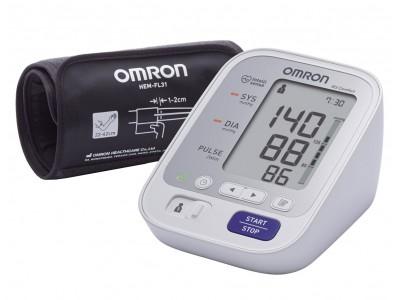 Тонометр автоматический OMRON M3 Comfort (HEM-7134-E) с уникальной манжетой Intelli Wrap