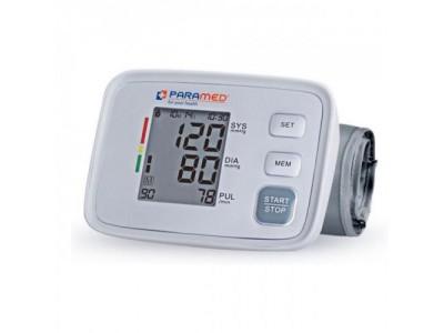 Тонометр автоматический Paramed Basic на плечо с манжетой 22-36 см и индикатором аритмии. Гарантия 2 года (6953825900502)